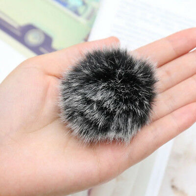 Universal Furry Outdoor Microphone Windshield Wind Muff Lavalier Lapel Mic RODE