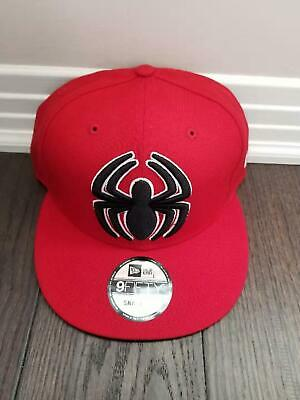 best website 87112 51339 Brand New New Era Marvel Spiderman 9fifty Snapback Adjustable Cap hat
