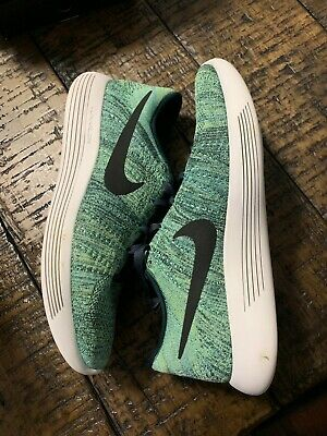 5e8483aa8635 NIKE LunarEpic Low Flyknit Running Shoes Size 11  160 843764 300 Seaweed NO  BOX