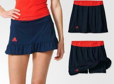 low priced 2de89 97c50 Nouveau Adidas G Cour Filles Climalite Jupe-Short Age 5-8 Marine Tennis  Hockey