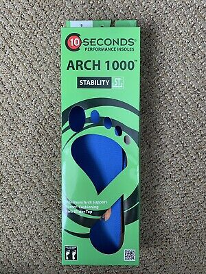 192c5e71f6 10-Seconds Arch 1000 Performance Insoles Superior Arch Support Stability B  7.5