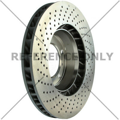 Disc Brake Rotor-OE Type Drilled Disc-Preferred Front Right Centric 128.37037