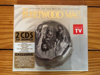 Fleetwood Mac - The Very Best Of 2002 Reprise R2 73775 2CD Sealed Mint