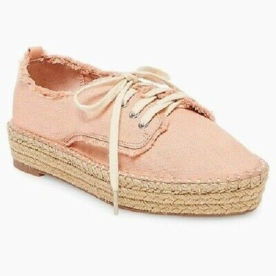 8a22d3a21 Womens DV by Dolce Vita Roxie Pink Espadrille Sneakers Shoes NWOB D39
