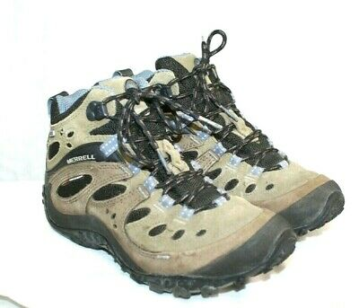 MERRELL CHAMELEON ARC Mid Waterproof Canteen Hiking Trail