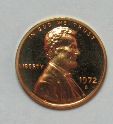 1972 S Proof Lincoln Memorial Cent