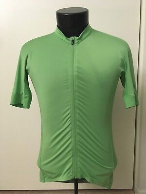 b38cd0059 Rapha Cycling Pro Team Aero Jersey Green size LARGE Pre Owned