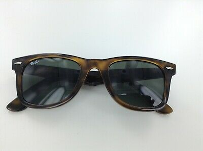 b49222d79e RAYBAN WAYFARER RB4340 710 50MM Tortoise   Green 50mm Sunglasses ...