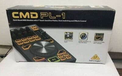 Behringer CMD PL-1 MIDI Module with 4-Inch Touch-Sensitive Platter, Deck Switch