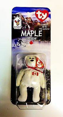 f53343e57cb MAPLE THE BEAR McDonald s Ty Teenie Beanie Baby -New in Package -Retired - CANADA