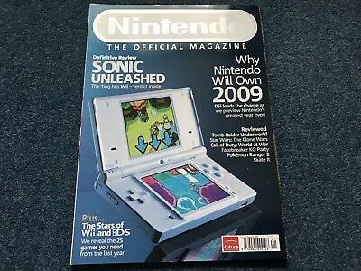 Nintendo Official Magazine - Issue 38 January 2009