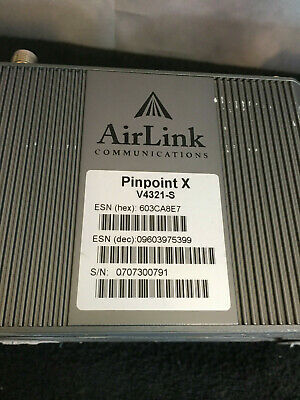 Lot of 10 Sierra Wireless AirLink PinPoint X Modems V4321-V by ALEOS  *