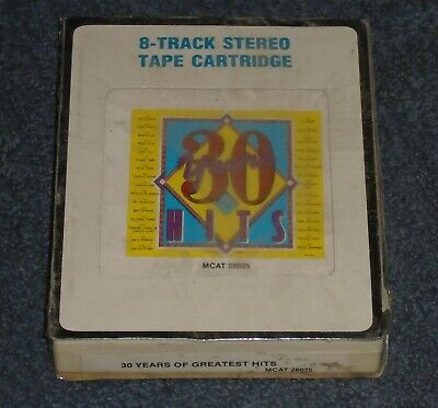 30 Years of Greatest Hits 8-track sealed