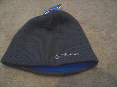 COLUMBIA UNISEX OMNI-HEAT Thermal Reflective Fleece Beanie Hat Cap ... 5f265d515a3a