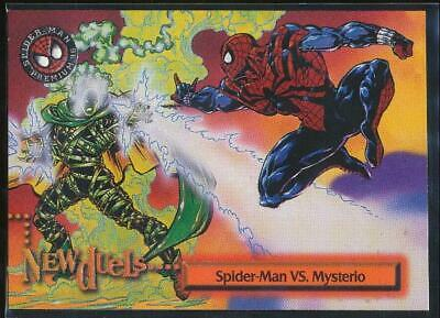 1996 Spider-Man Premium Trading Card #52 Spider-Man VS. Mysterio