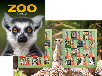 AUSTRALIA 2019 Zoo Animals stamp pack PRE ORDER
