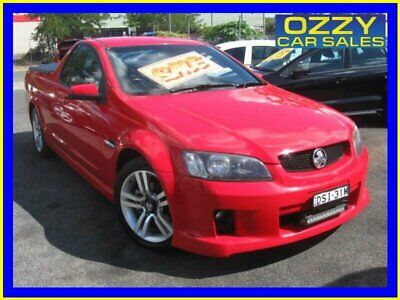 2008 Holden Commodore VE MY09.5 SV6 60th Anniversary Red Manual 6sp M Utility