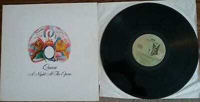 Queen-A Night At The Opera Vinyl LP 1975 Elektra 7E-1053 Embossed Cover