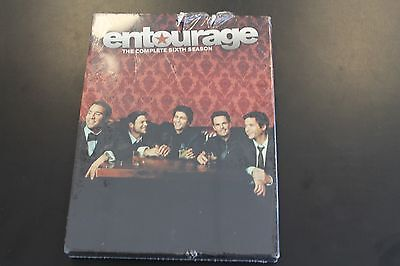 Entourage: The Complete Sixth Season (DVD, 2010, 3-Disc Set) BRAND NEW SEALED dm