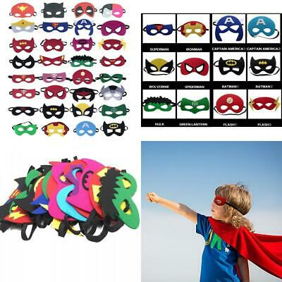 KRUCE 33 Pieces Superhero Masks,Superhero Party Supplies,Superhero Cosplay...