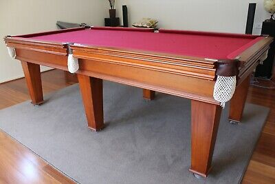 Astra Pool Table 8 X 4 Foot   Made In Australia With Italian Slate