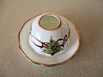 Royal Albert Old Country Roses Christmas Tree Tealight Holder Retired