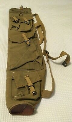 Militaria - Spare Barrel and Parts Bag for Bren Gun