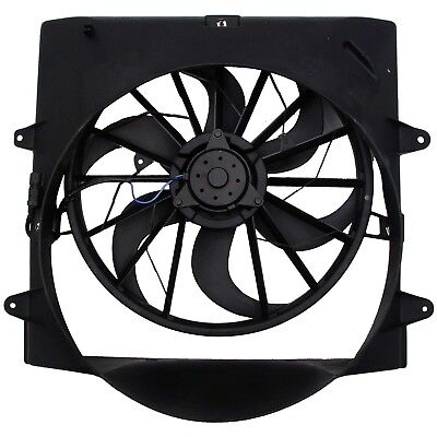Radiator Cooling Fan Shroud For 99 04 Jeep Grand Cherokee L6 4 0l