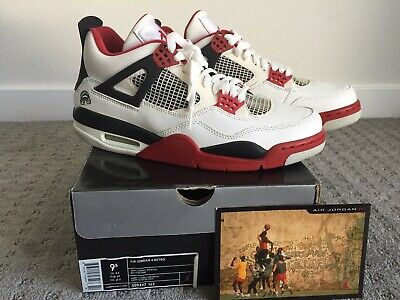 f56897993b0a79 2006 Nike Air Jordan 4 Iv Retro Mars Blackmon Size 9.5 Deadstock Couture Vi  Xi