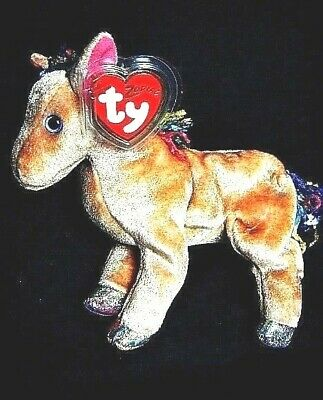 Ty Beanie Baby Horse the Chinese Zodiac Collection MWMT 2000 Retired   RARE  MWMT 1f1d8aae01c8