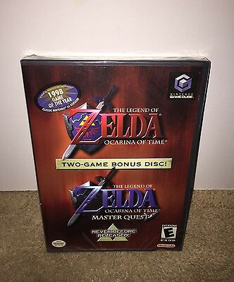 Legend of Zelda: Ocarina of Time/Master Quest NEW SEALED! Nintendo GameCube/Wii