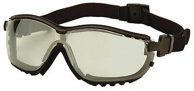 Pyramex Anti-Fog, Anti-Static, Scratch-Resistant Direct Dust Goggle,