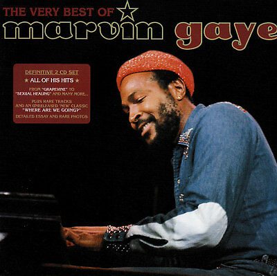 MARVIN GAYE / THE VERY BEST OF - 2 CD SET - featuring SEXUAL HEALING
