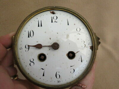 Antique French Japy Freres Striking Clock Movement For Spares Repair