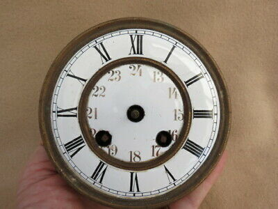 Antique Spring Driven Vienna Clock Movement For Spares Repair