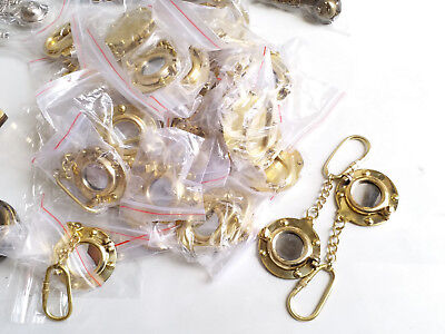Lot Of 50 pc PORTHOLE Vintage Collectible Nautical Solid Brass  Key collectible