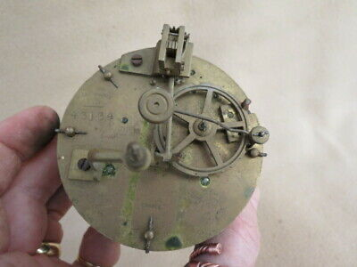 Antique Fini Paris Striking Clock Movement For Spares Repair
