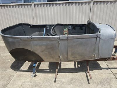 1928 Ford A Model Tourer project, excellent body, bare chassis, hot rod, rat rod
