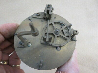 Antique French Js Clock Movement For Spares Repair