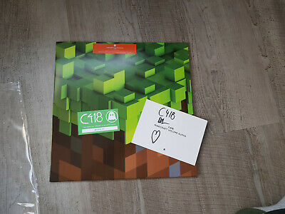 Minecraft LP Volume Alpha C418 SIGNED on Green Vinyl