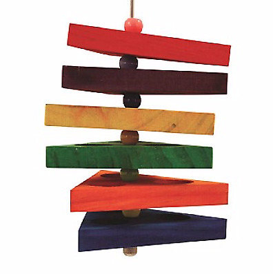 Snack Trays Foraging Kabob Parrot Toy - A Chewable, Reusable Foraging Toy