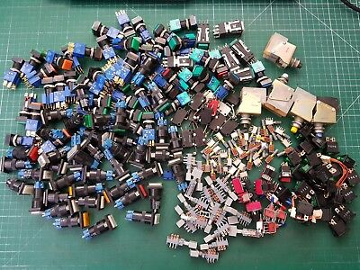 Large Switch Joblot  Rocker switch , Toggle Switch ,  Push Switch Lever Switch