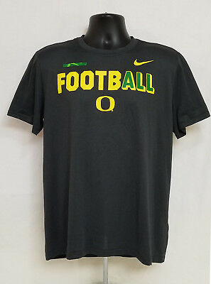 Details about Oregon DUCKS Football NIKE Athletic Cut LONG SLEEVE SHIRT Logo Top MEN'S S