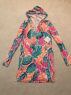 2f07106119 NWT LILLY PULITZER Rylie Cover-up Dress Multi Goombay Smashed XXS ...