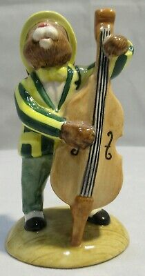 Royal Doulton Double Bass Player Bunnykins DB185, Limited Edition