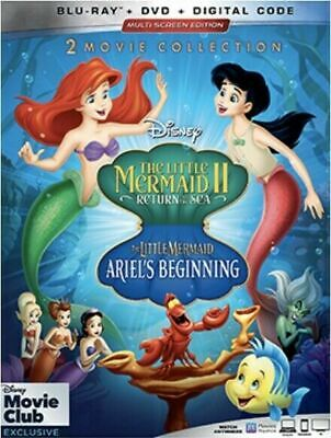 The Little Mermaid II & III - DMC Exclusive (Blu-ray/DVD/No Digital)