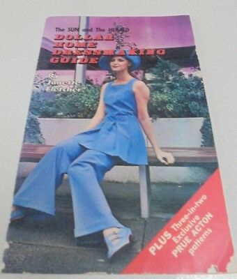 Dollar Home Dressmaking Guide sewing book Sun & Herald publication Vintage Book