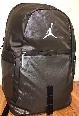 Nike Air Jordan Jumpman Retro Laptop Backpack Metallic Black Anthracite  9A1810 2f7e8a075e2b5