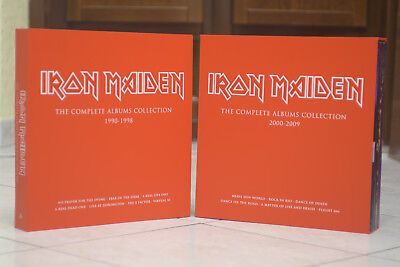 Iron Maiden - The Complete Albums Collection 1990-1998 & 2000-2009 BOX ONLY