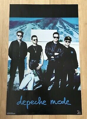 Original Vintage Depeche Mode 1991 Poster Funky New Condition Music Promo Rare